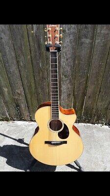 Eastman AC630-CE Acoustic Guitar Flamed Maple Spruce Cutaway Jumbo W/Case  BIN