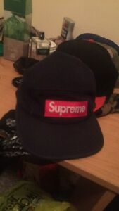 Supreme Hat Navy Blue