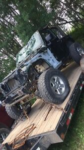 2007 Jeep Wrangler part out!