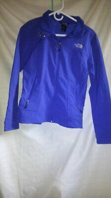 The North Face women's bright blue windbreaker jacket M