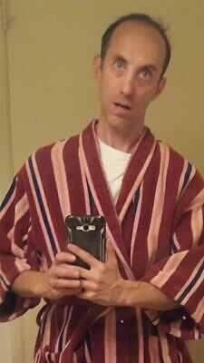 Vintage Ferris Bueller Deadpool Robe Bathrobe one-size