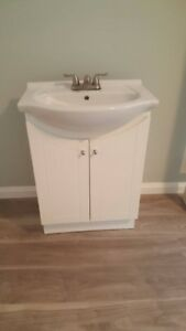 Bathroom sink and cabinet, Bathroom vanities