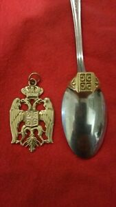 Serbian pendant 9ct gold & ring 18ct gold Clearview Port Adelaide Area Preview