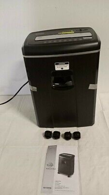 Shredding Machine Aurora 12-sheet Crosscut Paper And Credit Card Shredder