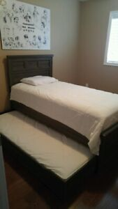 Trundle Bed with Mattress