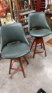 Pair of 1960's stools Randwick Eastern Suburbs Preview