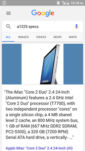 Apple mac i core duo 2 Melton West Melton Area Preview
