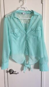 XL mint Candies blouse