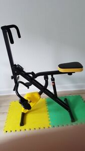Total Crunch Power Rider Bike 2-1 Ultimate AB Crunch Workout