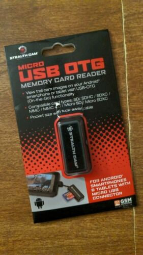 Stealth Cam Android Micro USB OTG Memory Card Reader
