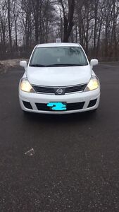 Nissan Versa 2009 with emissions and safety