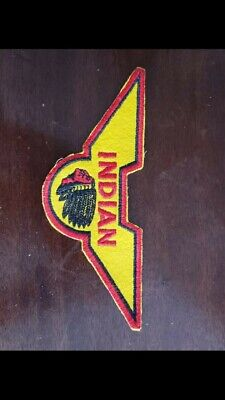 Vintage 40s Indian Motorcycle Patch