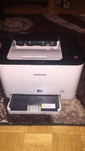 SAMSUNG printer  - model    CLP-320 colour laser printer.