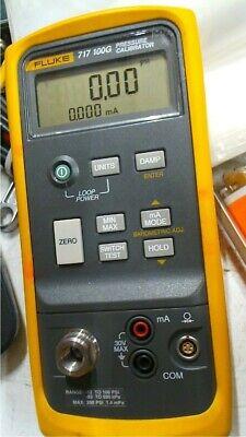 Fluke 717 100g Pressure Calibrator -12 To 100 Psi Free Shipping