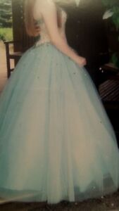 Beautiful Prom Dress And Shoes