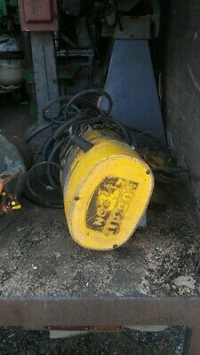 Budgit 12 Ton Electric Hoist With Trolley