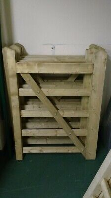 Universal 5 Bar Wooden Gate/Field Gate - 3ft Wide 4ft High - Free Delivery