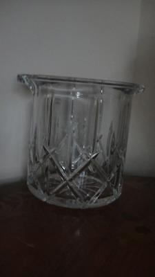 Gorham Lady Anne Crystal Ice Bucket New in Box