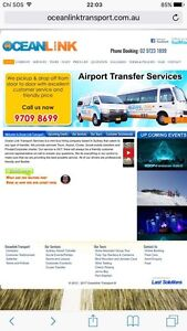Airport - shuttles bus service - tour - city night ... Campbelltown Campbelltown Area Preview