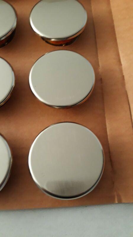 Viking Brushed Chrome Fire Sprinkler Cover Plate-LOT of 23