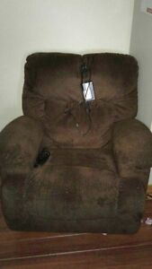 Brown lazy boy recliner chair