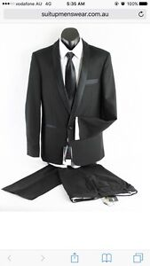 Black dinner suit formal and weddings Gladesville Ryde Area Preview