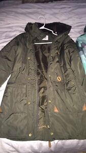 2 winter jackets both size small