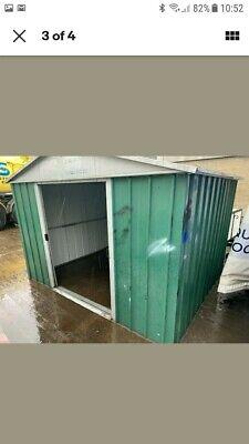 Yard master Metal shed 8x8