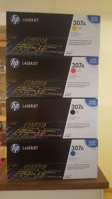 3 X Hp Laserjet (3x ORIGINAL TONER HP Color Laserjet CP5220 CP5225 CP5225DN CP5225N 307A - leer !)
