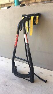 A frame bike carrier toll ball rack
