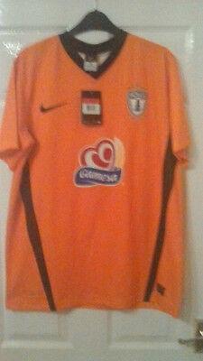 Mens Football Shirt - Pachuca Mexican Club Team - Away 2010-13 - Orange BNWT L image