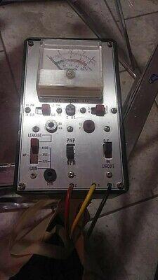 Vintage Emc Model 212 Transistor Tester