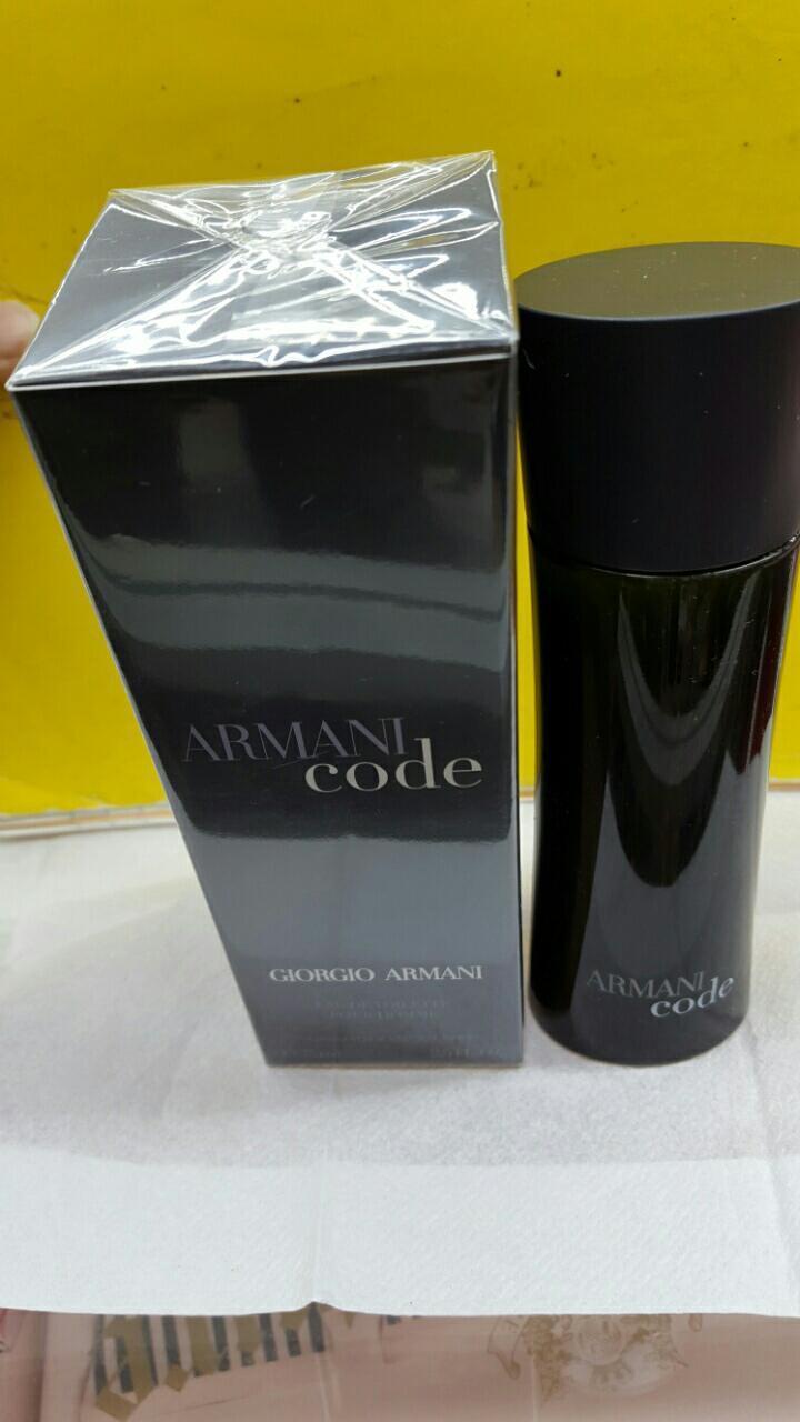 ARMANI CODE BY Giorgio Armani **2.5oz** Men's EDT **NIB AND SEALED**