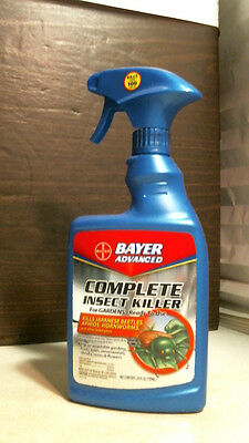 Bayer Complete Insect Killer (Bayer Advanced Complete Insect Killer 24oz. For Gardens )