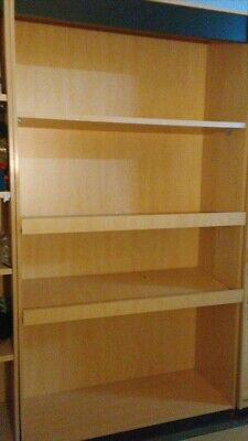 Tall Storage Cabinet Shelving Store Display Book Case Store Fixture Display Case