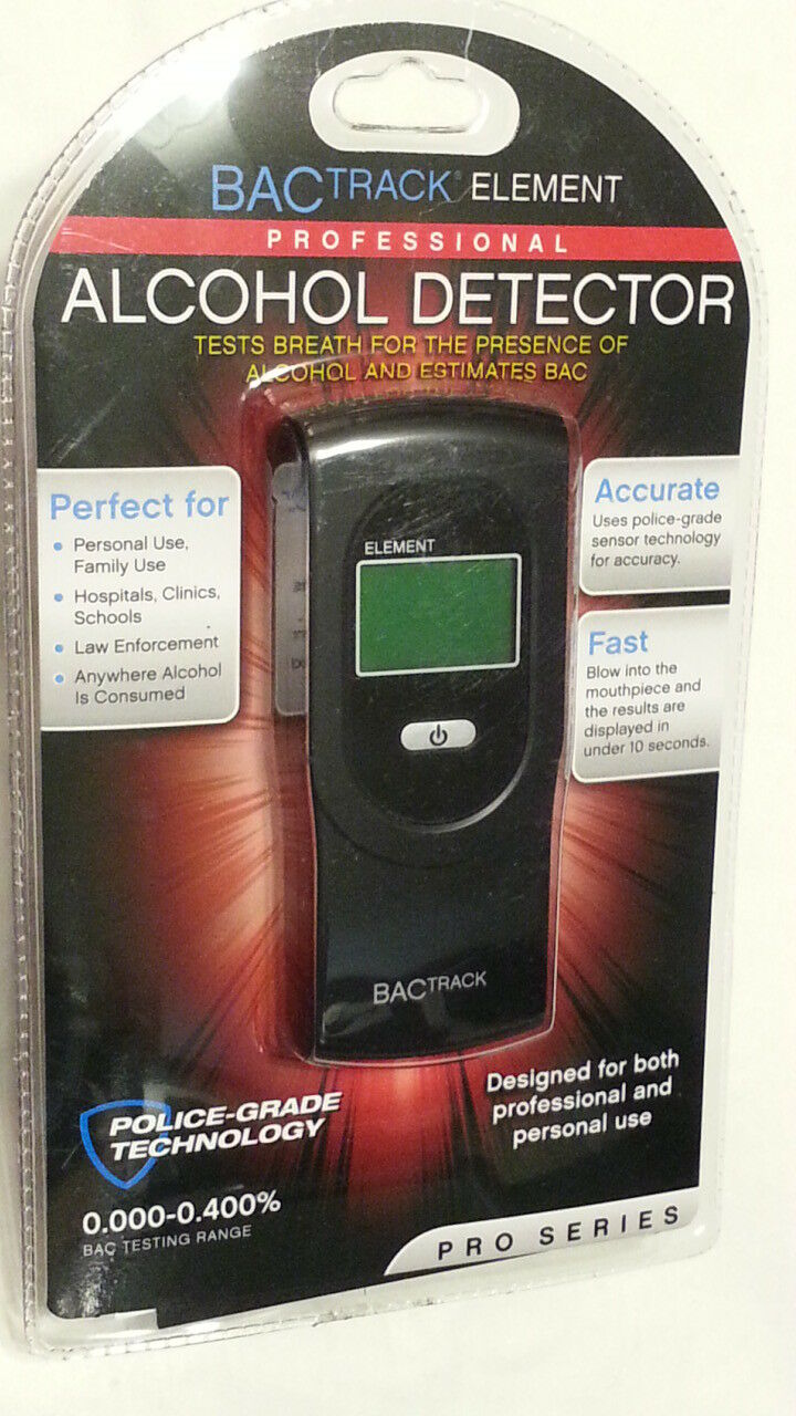 BACTrack Element Professional Alcohol Detector Portable FACTORY SEALED