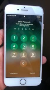 I phone 7 32gb rose