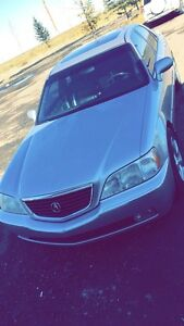 acura rl with 1 set of tires and every record of all things