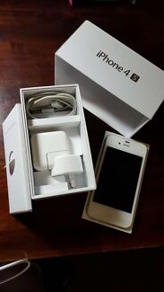 iphone 4s white 16 GB Brunswick Moreland Area Preview
