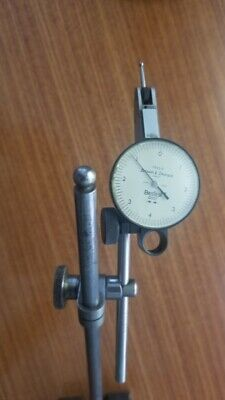 Brown And Sharpe 7023-3 Besttest Dial Indicator .0001 Wstand