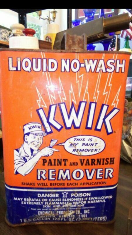 Antique Paint Remover Can