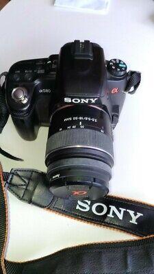 appareil photo numérique SONY ALPHA 580 DSLR APS-C en très bon état .