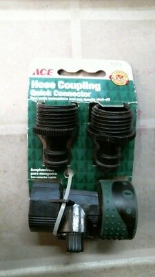 Hose Coupling Quick Connector - ACE 72372 Hose Coupling Quick Connector, FREE SHIPPING
