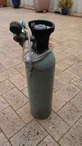 Co2 beer brewing Gas Cylinder and regulator Canning Vale Canning Area Preview