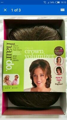 Hairdo By Ken Paves & Jessica Simpson Crown Volumiser. Chocolate copper. BNIB
