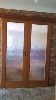 Beautiful internal wood sliding doors Port Noarlunga Morphett Vale Area Preview