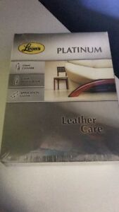 Leon's Platinum Leather Care Kit  Unopened