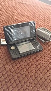 3ds New black+12 games included+ 32 Gb SD