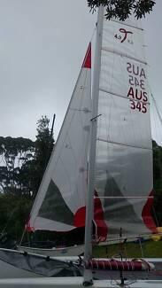 Taipan 4.9 Catamaran  cat , sloop or f16 Configuration