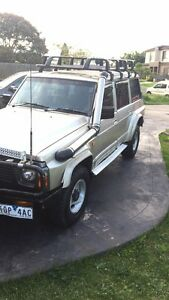 1992 series 2 ST nissan patrol 4.2 gas and petrol Dallas Hume Area Preview